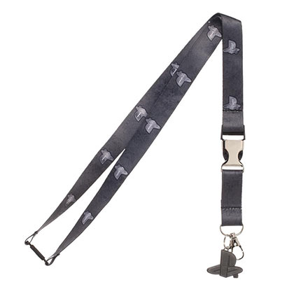 Playstation Lanyard With Metal Buckle and Charm