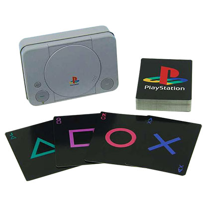 Playstation Console Playing Cards Set