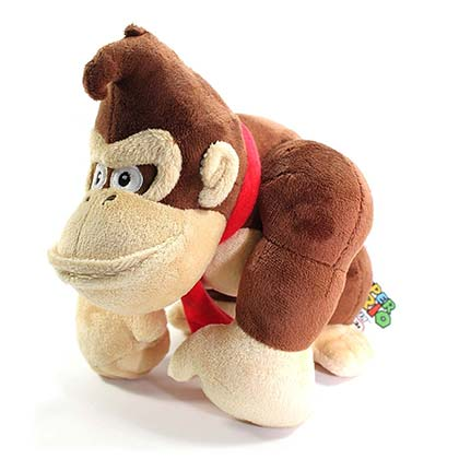 Donkey Kong Brown Plush Doll