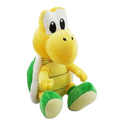 Super Mario Bros Koopa Troopa Yellow Plush Doll