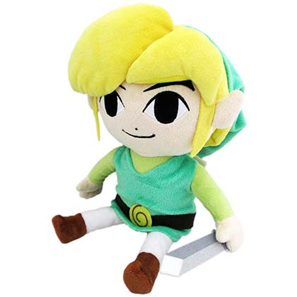 The Legend Of Zelda Green Link Plush Doll
