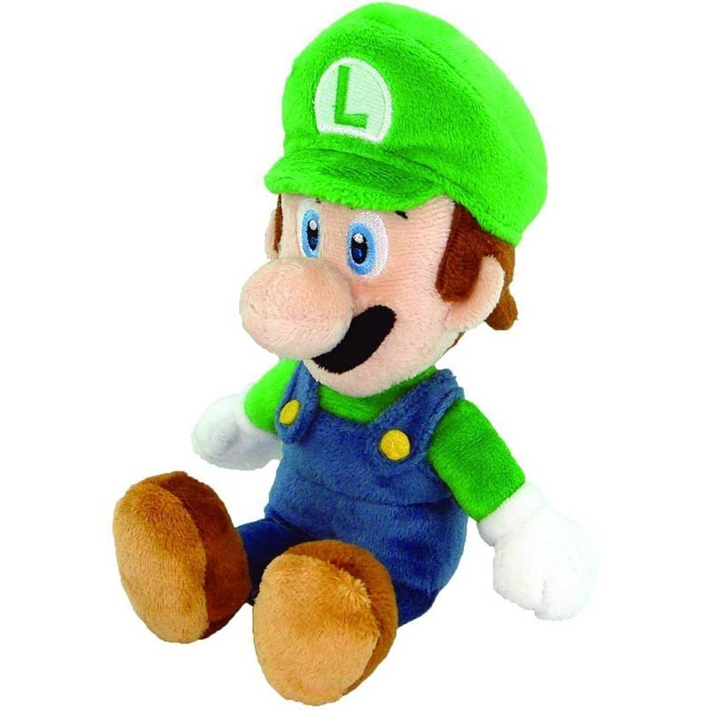 Super Mario Bros Luigi Green Plush Doll
