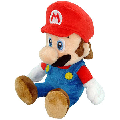 Mario Red Plush Doll
