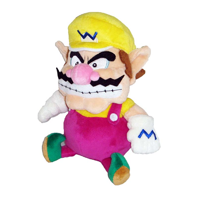 Super Mario Bros Wario Pink Plush Doll