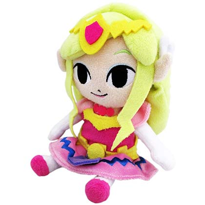 Zelda Pink Plush Doll