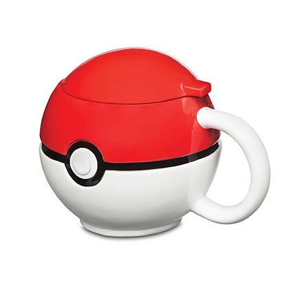 Pokemon Red & White Pokeball Coffee Mug