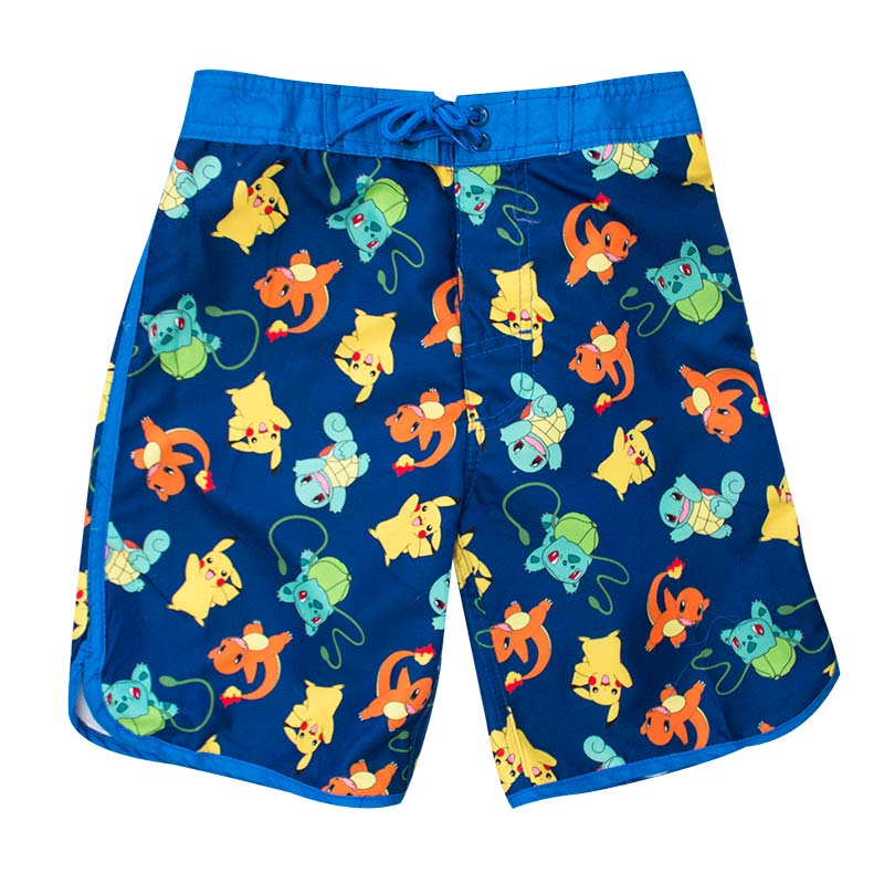 Pokemon Kids Blue Board Shorts