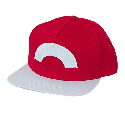 Pokemon Red Ash Snapback Hat