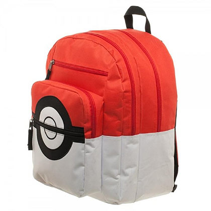 Pokemon Trainer Pokeball Backpack