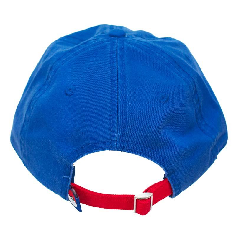 c9a1db62f3f Pokemon Pokeball Dad Blue Hat