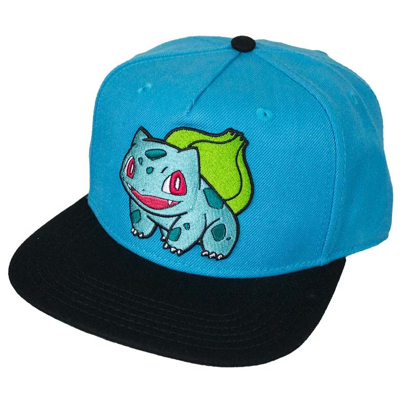 Pokemon Bulbasaur Snapback Hat