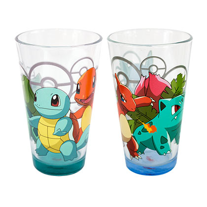 Pokemon Set Of Two Pint Glasses