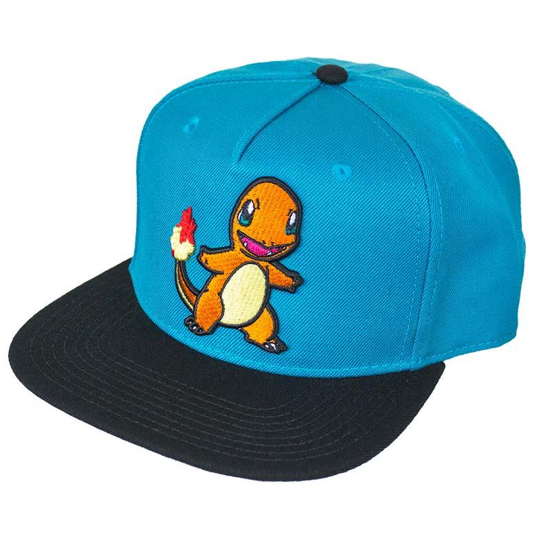 Pokemon Charmander Snapback Hat