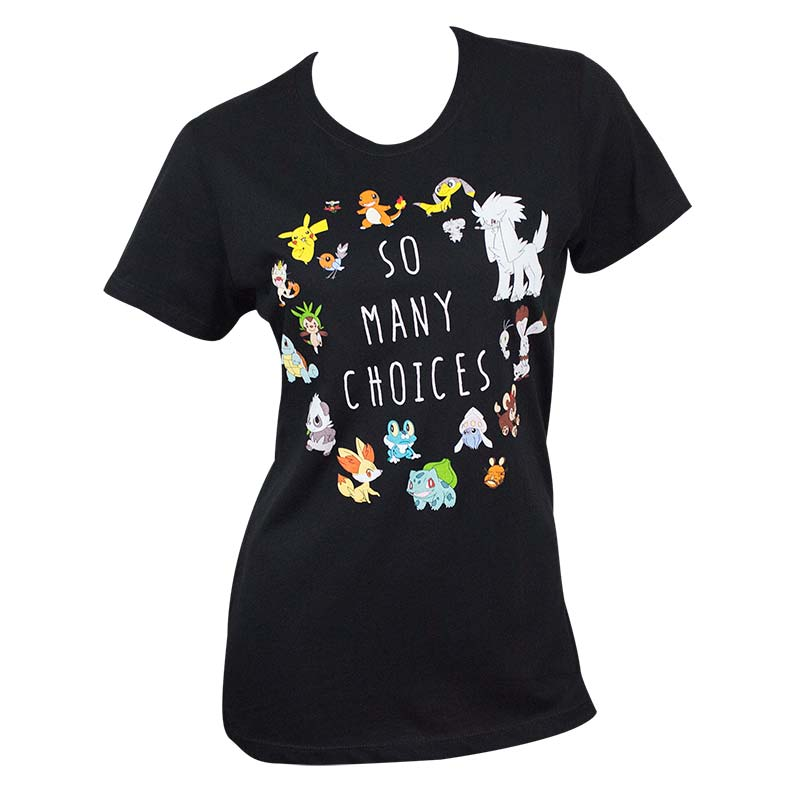 Pokemon Choices Women's Tee Shirt