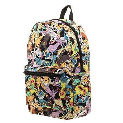 Pokemon Evolution Of Eevee Sublimated Backpack