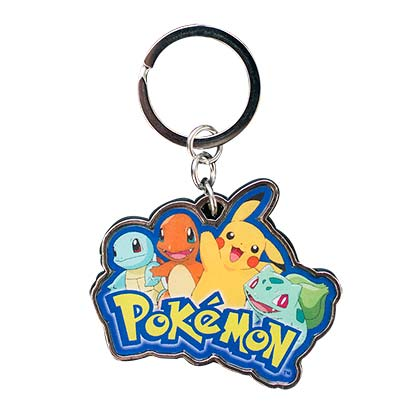 Pokemon Pikachu & Friends Keychain