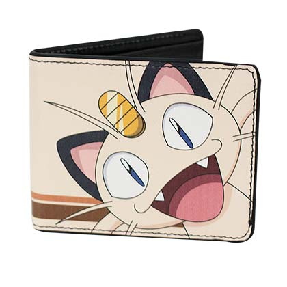 Pokemon Meowth Wallet