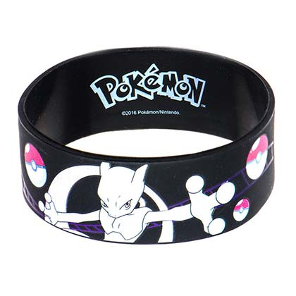 Pokemon Mewtwo Rubber Bracelet