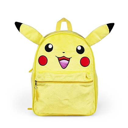Pokemon Pikachu Furry Character Backpack