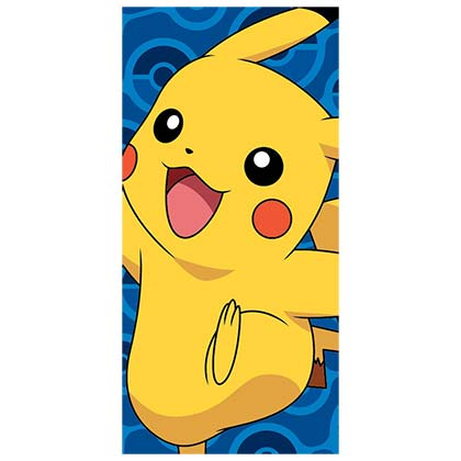 Pokemon Blue Pikachu Beach Towel