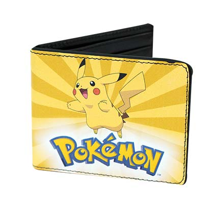 Pokemon Bifold Pikachu Wallet