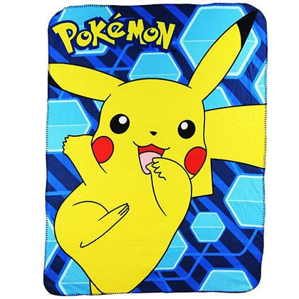 Pokemon Pikachu Throw Blanket