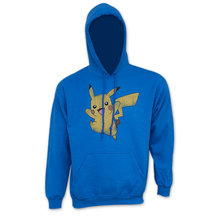Pokemon Blue Pikachu Hooded Sweatshirt