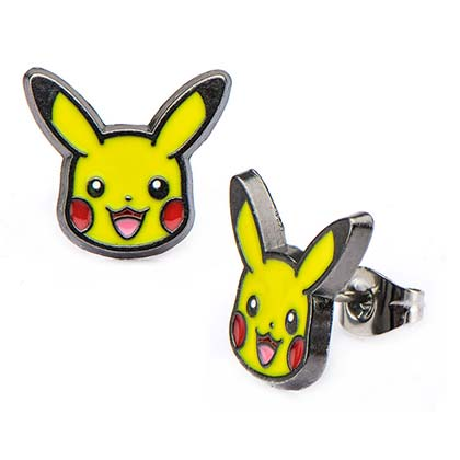 Pokemon Pikachu Logo Earrings