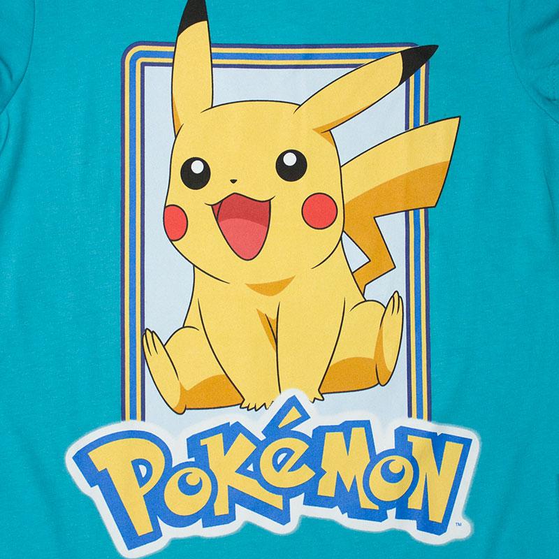 Pokemon Women\'s Blue Pikachu Jump T-Shirt   TVMovieDepot.com