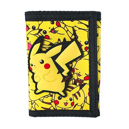 Pokemon Comic Pikachu Velcro Wallet