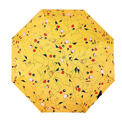 Pokemon Compact Pikachu Umbrella