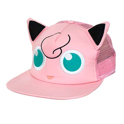 Pokemon Jigglypuff Pink Trucker Hat