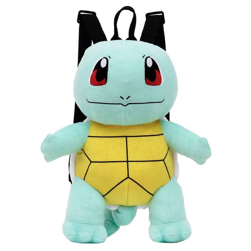 Pokemon Squirtle Zipped Plush Backpack