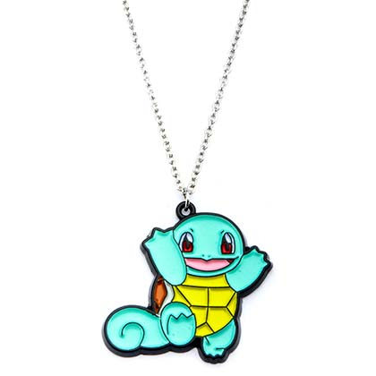 Pokemon Teal Squirtle Necklace
