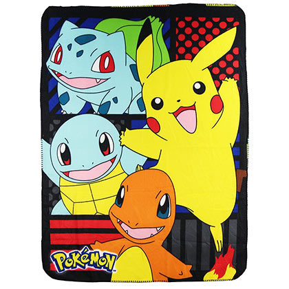 Pokemon Characters Throw Blanket
