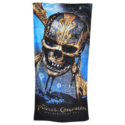 Pirates Of The Caribbean Dead Men Tell No Tales Beach Towel