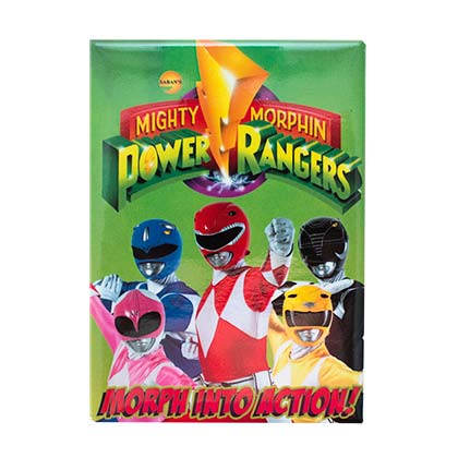 Power Rangers Morph Into Action Magnet
