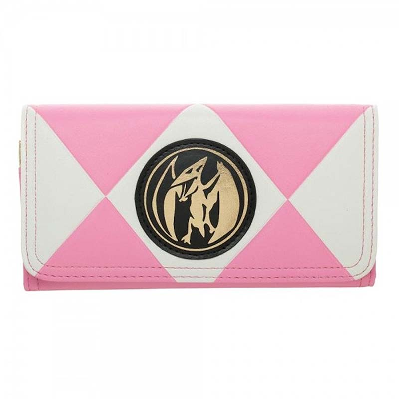 Power Rangers Ladies Pink Ranger Clutch Wallet