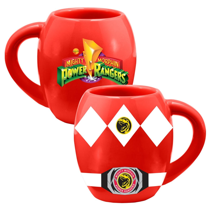 Power Rangers Ceramic Red Ranger Coffee Mug