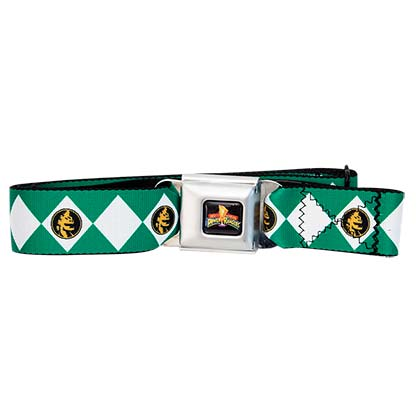 Power Rangers Seatbelt Green Ranger Belt