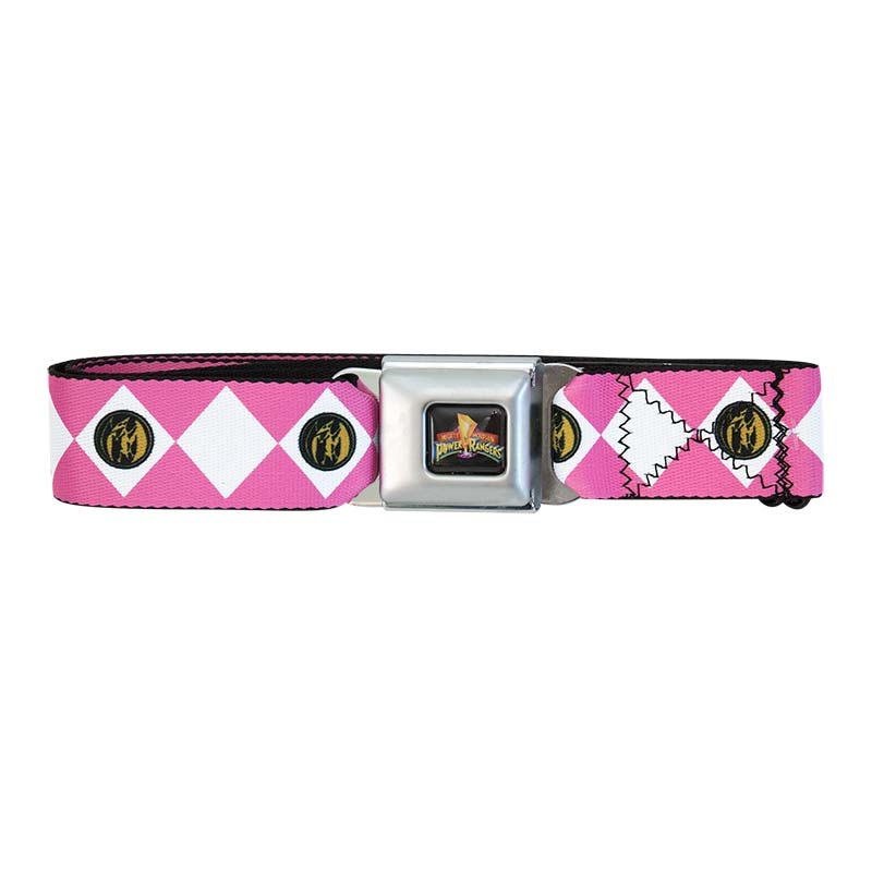 Power Rangers Seatbelt Pink Ranger Belt
