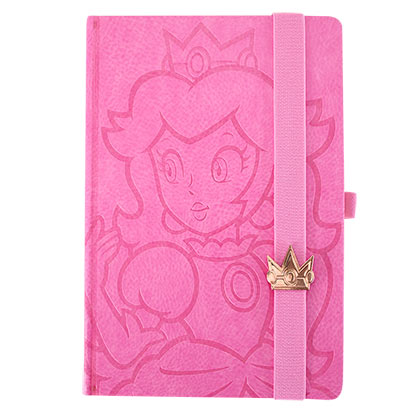 Super Mario Bros. Pink Princess Peach Journal