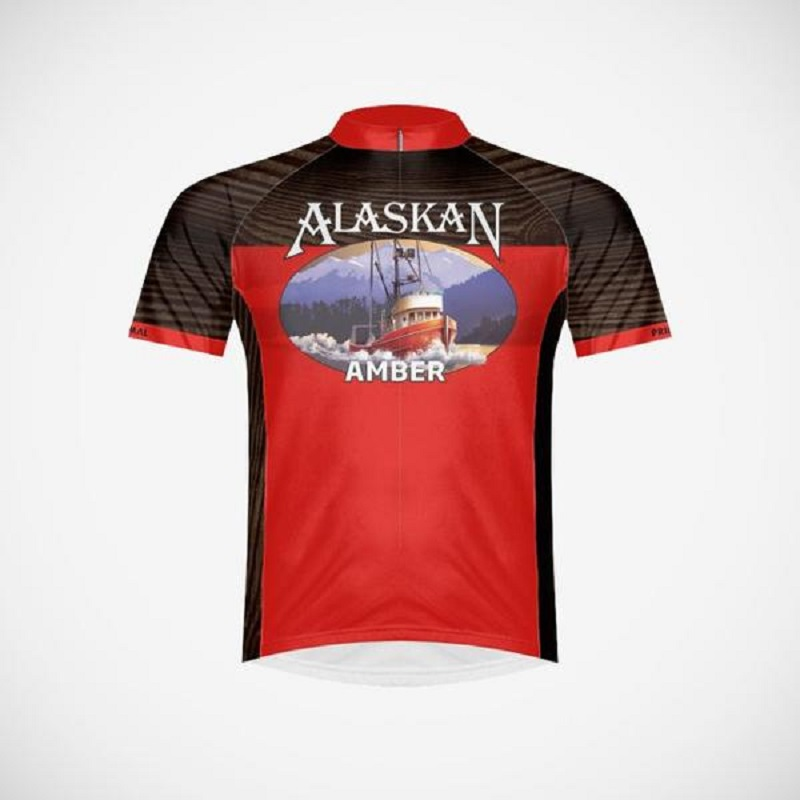 Alaskan Amber Ale Men's Cycling Jersey