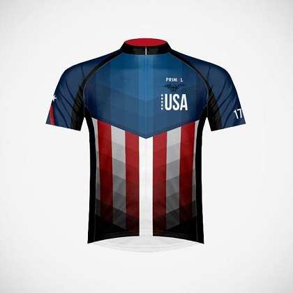 American Patriot Cycling Jersey