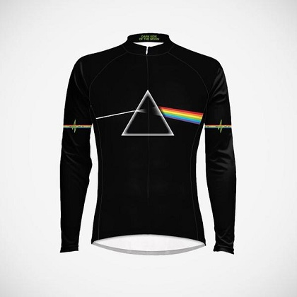 Pink Floyd Dark Side of the Moon Long Sleeve Men's Cycling Jersey