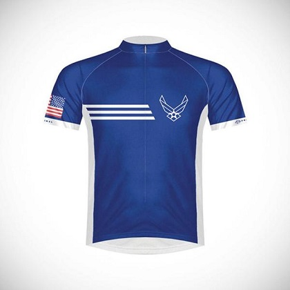US Air Force Vintage Men's Cycling Jersey