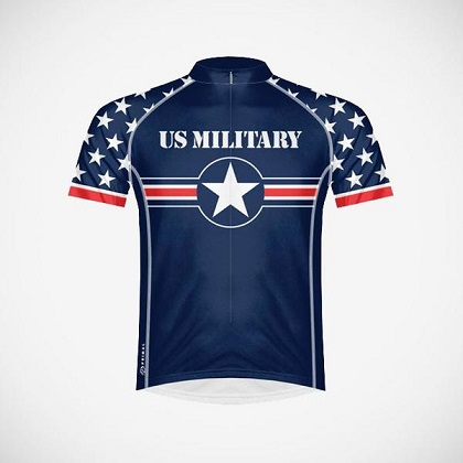 US Military Cycling Jersey