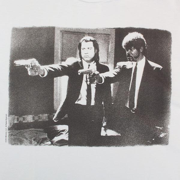 Men's Junk Food Pulp Fiction Jules Winfield Vincent Vega T-Shirt