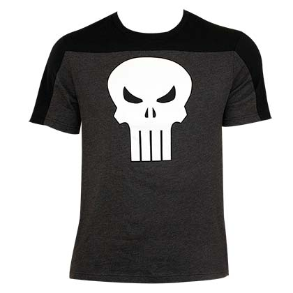 Punisher Men's Black On Black T-Shirt