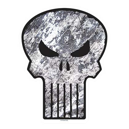 Punisher Car Window Decal
